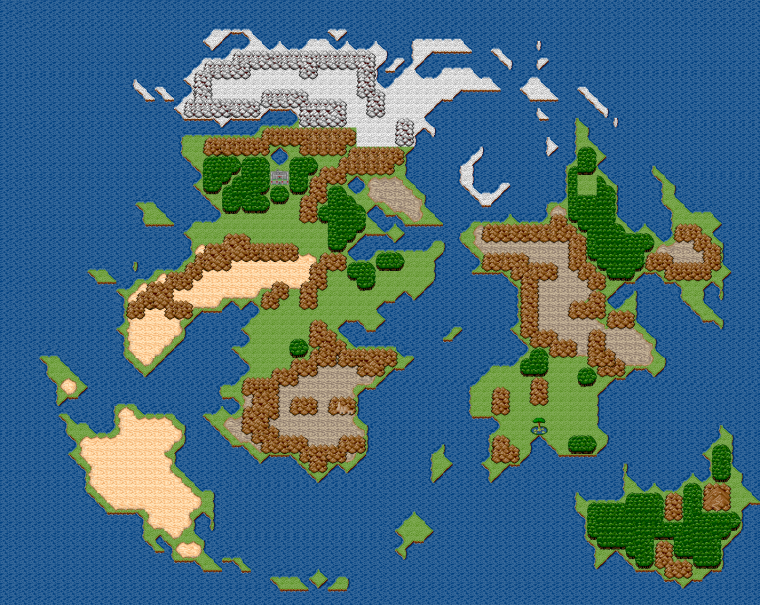 VanaDiel Mapa 16bit