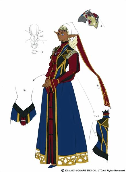 Galería de Elvaan de Final Fantasy XI