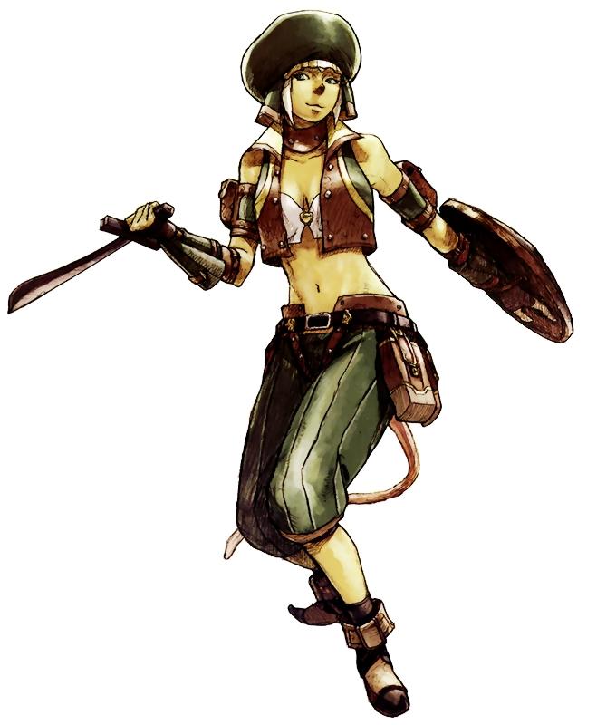 Ladrón Mithra Diseño Oficial Square Enix Final Fantasy XI FFXI Mobile R