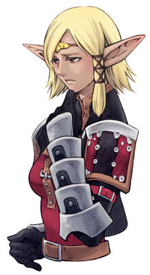 Elvaan Girl FF11 Final Fantasy Once