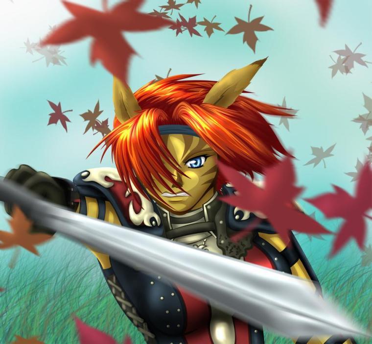 genial Mithra Dibujo Autumn Assault Mejor Juego FFXIR FFXI Mobile