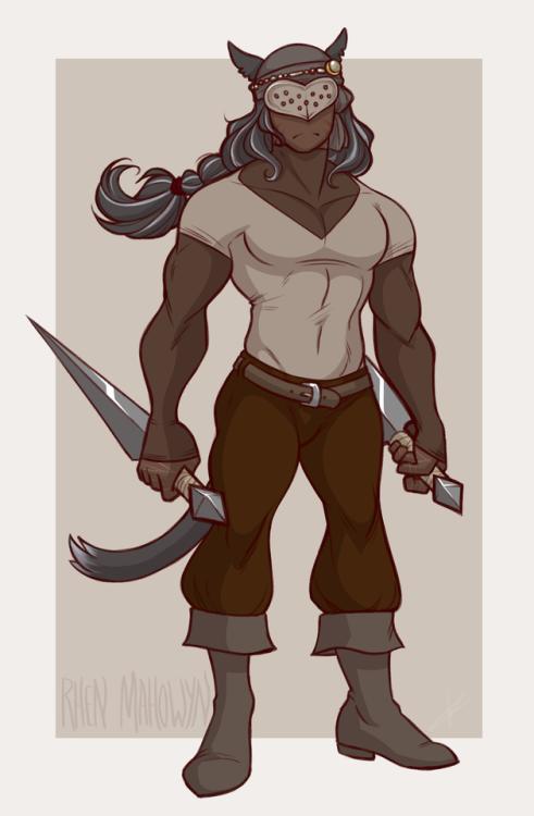 Cuchillos Asesino ladrón Mithra Nexon FFXIR FFXIMobile FFXIR Rhen's Outfit