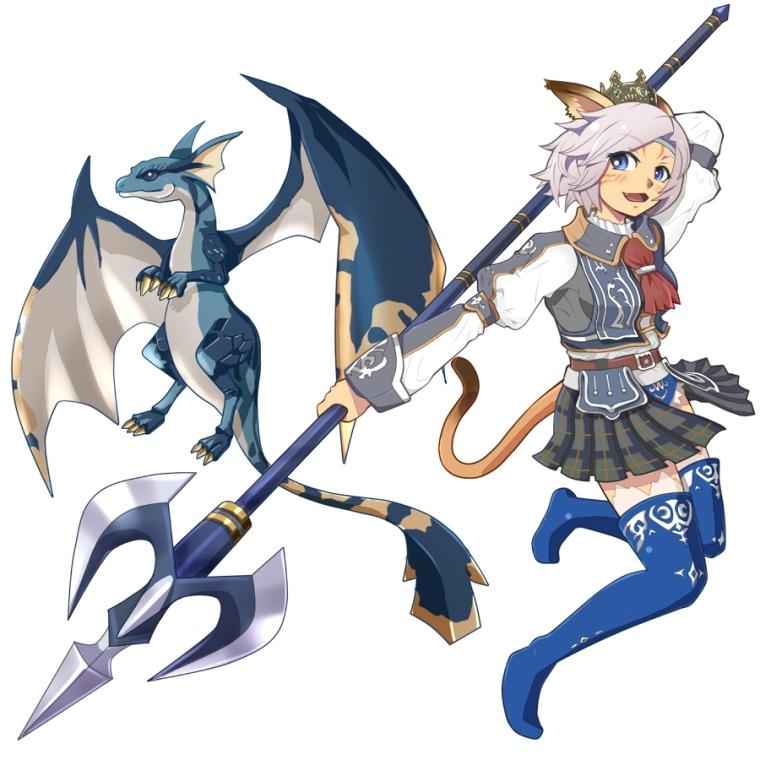 Mithra Dragon Dragoon FFXIR FFXIR