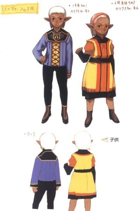 Official Conceptual Art FFXI Final Fantasy XI Online FFXIR