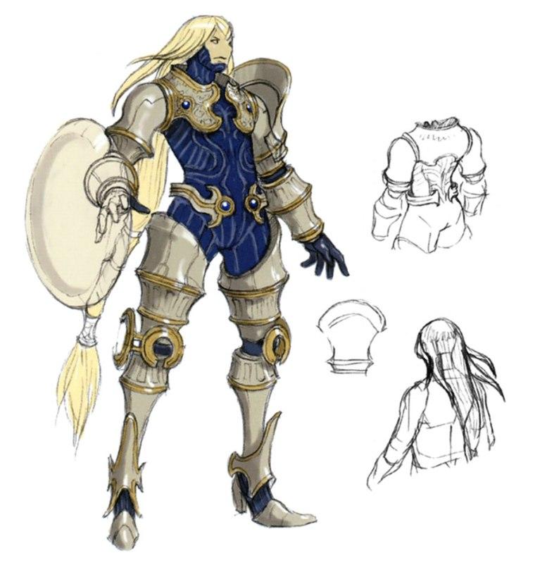 Final Fantasy 11 Elvaan Nuevas imágenes