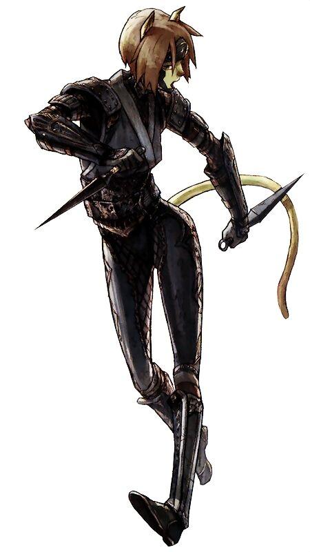 FFXI Mithra ninja asesina