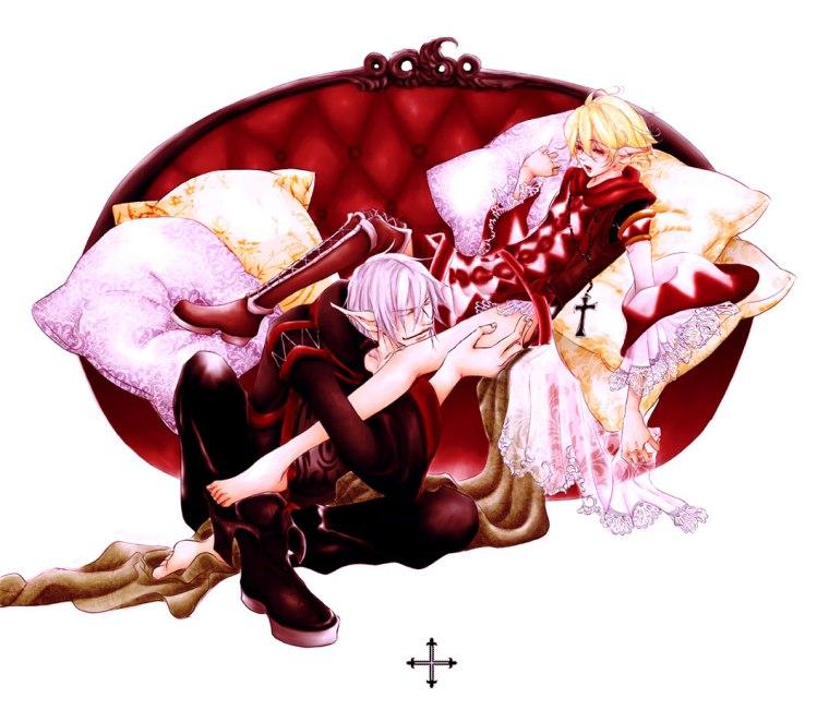 Elvaan Vana'Diel Final Fantasy Official Artwork