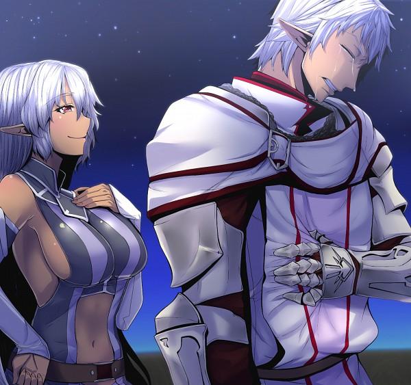 Bonita escena Elvaan de Final Fantasy XI FFXIR FFXIMobile