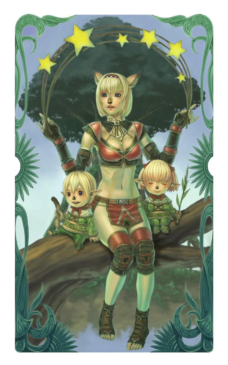 Mithra y Tarutarus Final.Fantasy.XI.full.135127